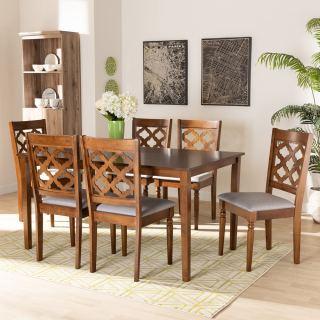 6-chair dining set [ Ramiro ] w746