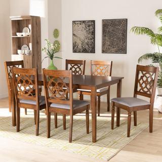 6-chair dining set [ Renaud ] w748