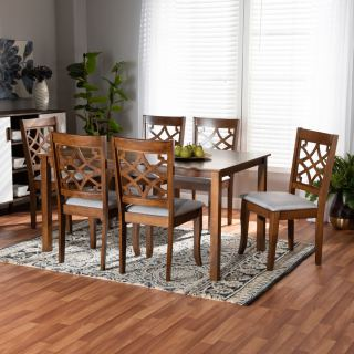 6-chair dining set [ Sandra ] w750