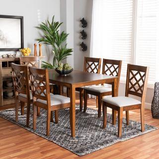 6-chair dining set [ Sari ] w751