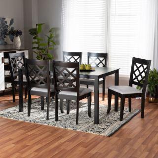 6-chair dining set [ Sari ] w752