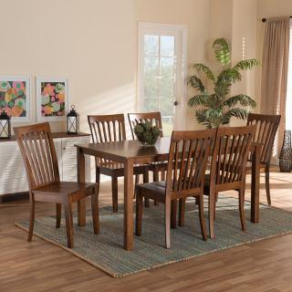 6-chair dining set [ Sedalia ] w753