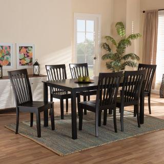 6-chair dining set [ Sedalia ] w754