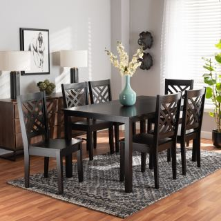 6-chair dining set [ Anni ] w776