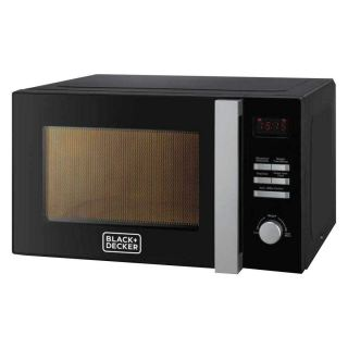 Black & Decker Microwave with Grill, 28 Litre, Black - MZ2800PG
