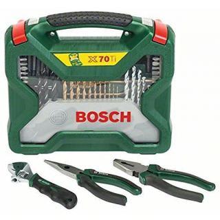 Bosch Accessory Set 70 Piece + Hand tools