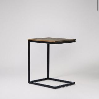 Side coffee table made of steel with electrostatic paint SU-004
