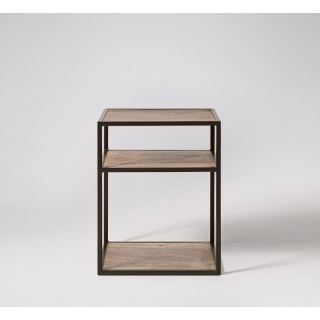 Side coffee table made of steel with electrostatic paint SU-001