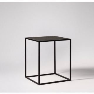 Side coffee table from steel with electrostatic paint SU-003