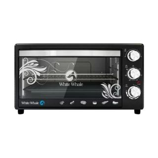 White Whale Electric Oven 40 Liter 1600 Watt Black Color WO-165RC