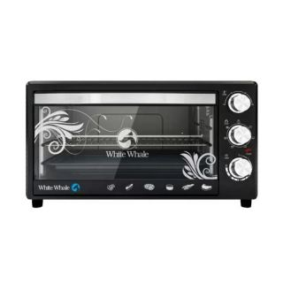 White Whale Electric Oven 45 Liter 1800 Watt Black Color WO-175RC
