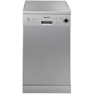White Point WPD 104 S Dishwasher - 10 Persons - Silver