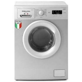 White Point WPW 6101 GDS - Front Loading Washing Machine - 6 Kg - Silver