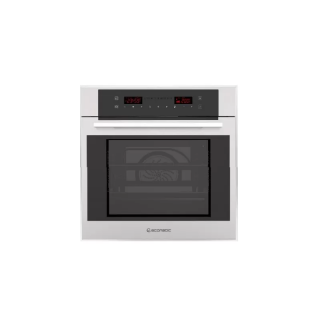 Ecomatic  electric oven 60 cm + electric grill - Stainless with crystal digital control panel 9 functions  E6419TX
