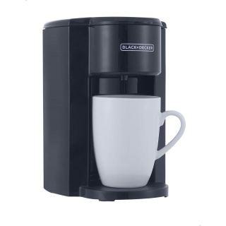 Black+Decker Coffee Machine with Coffee Mug, 350 Watt, Black - DCM25N-B5