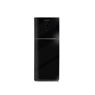 PREMIUM REFRIGERATOR 16 FEET 370 LITER NO FROST DIGITAL GLASS BLACK PRM-370BEGNA-C10