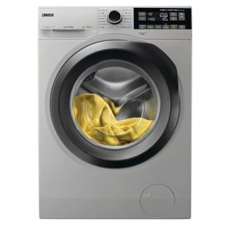 Zanussi Front Load Washing Machine 10KG with Dryer 6kg , Silver - ZWD11683NS