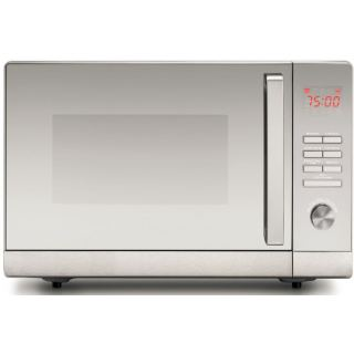 Black+Decker 30L Lifestyle Microwave Oven with Grill & Mirror Finish, Silver - MZ30PGSS-B5