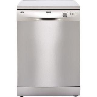 Zanussi Freestanding Dishwasher, 13 Place Settings,Stainless Steel- ZDF22002XA