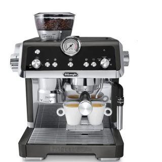 DeLonghi  - La Specialista Espresso Machine with Sensor Grinder & Dual Heating System, Black - EC9335BK